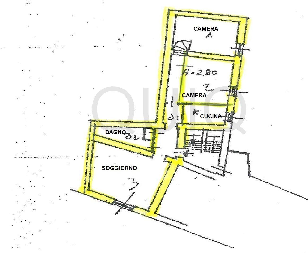 VALMADRERA, TRILOCALE CENTRALISSIMO,  CANTINA E DEPOSITO, LIBERO SUBITO